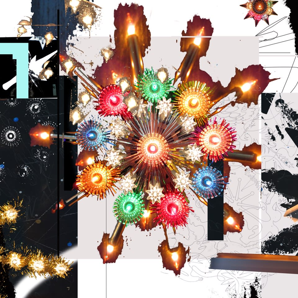 Carlos Betancourt The Future Eternal XI, 2018 Pigmented inkjet on fine art paper 36x36 Series: future eternal