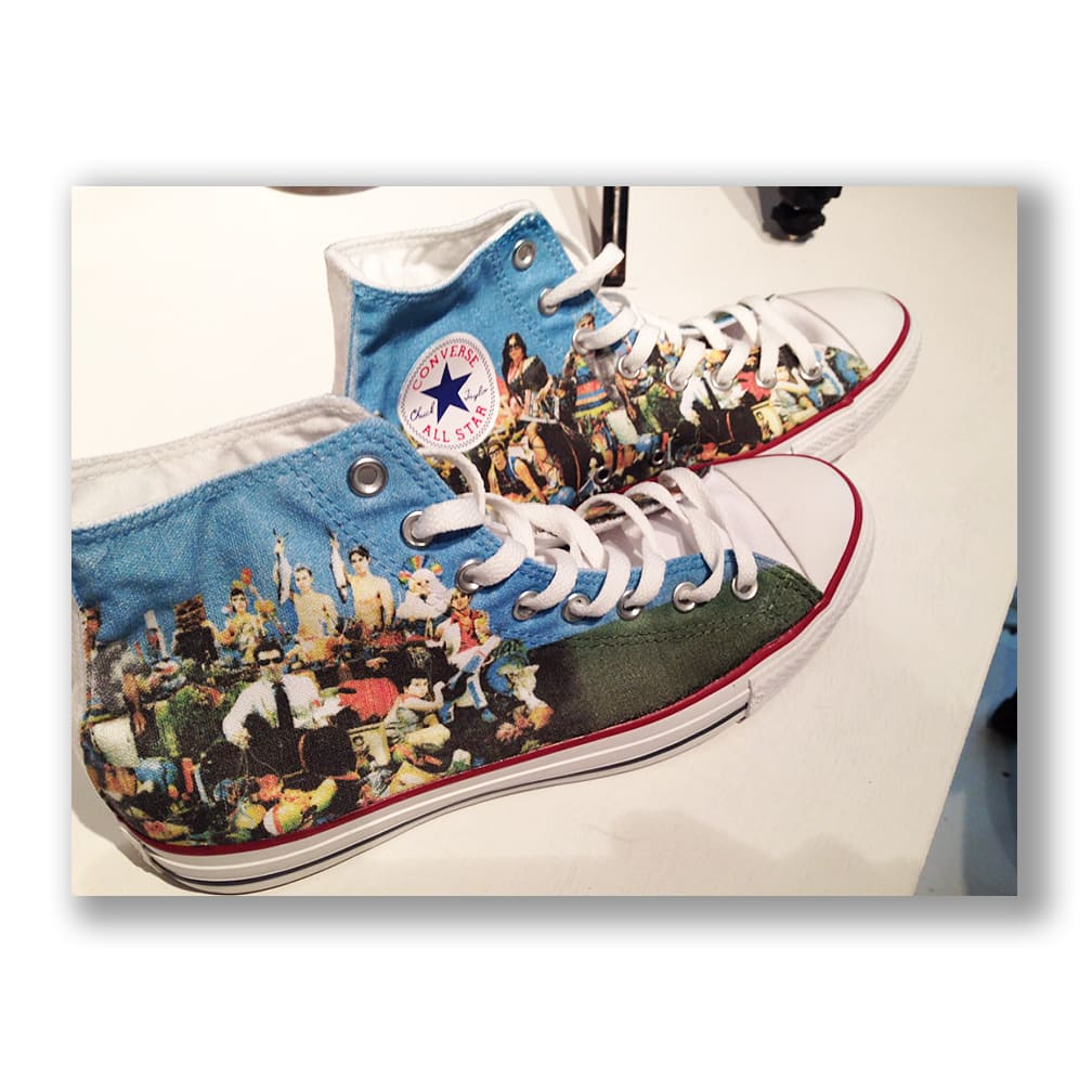 The (Last) Supper, (application on Converse shoes), 2013