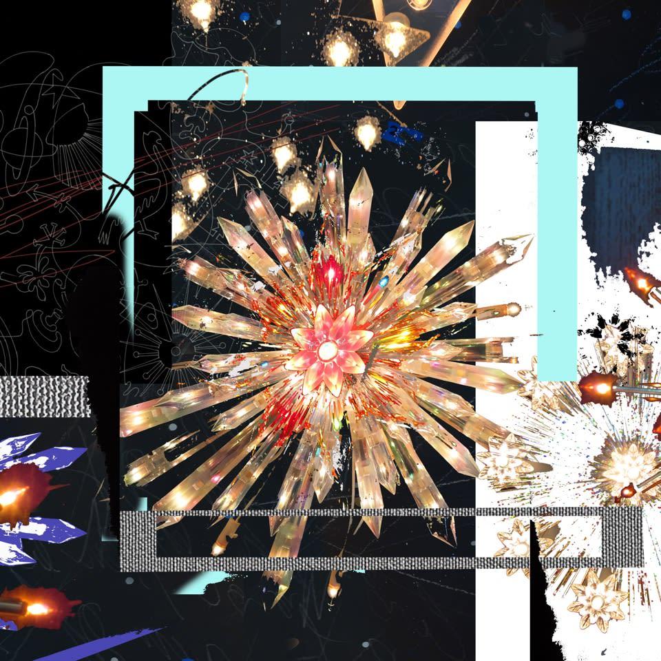 Carlos Betancourt The Future Eternal X, 2018 Pigmented inkjet on fine art paper 36x36 Series: future eternal