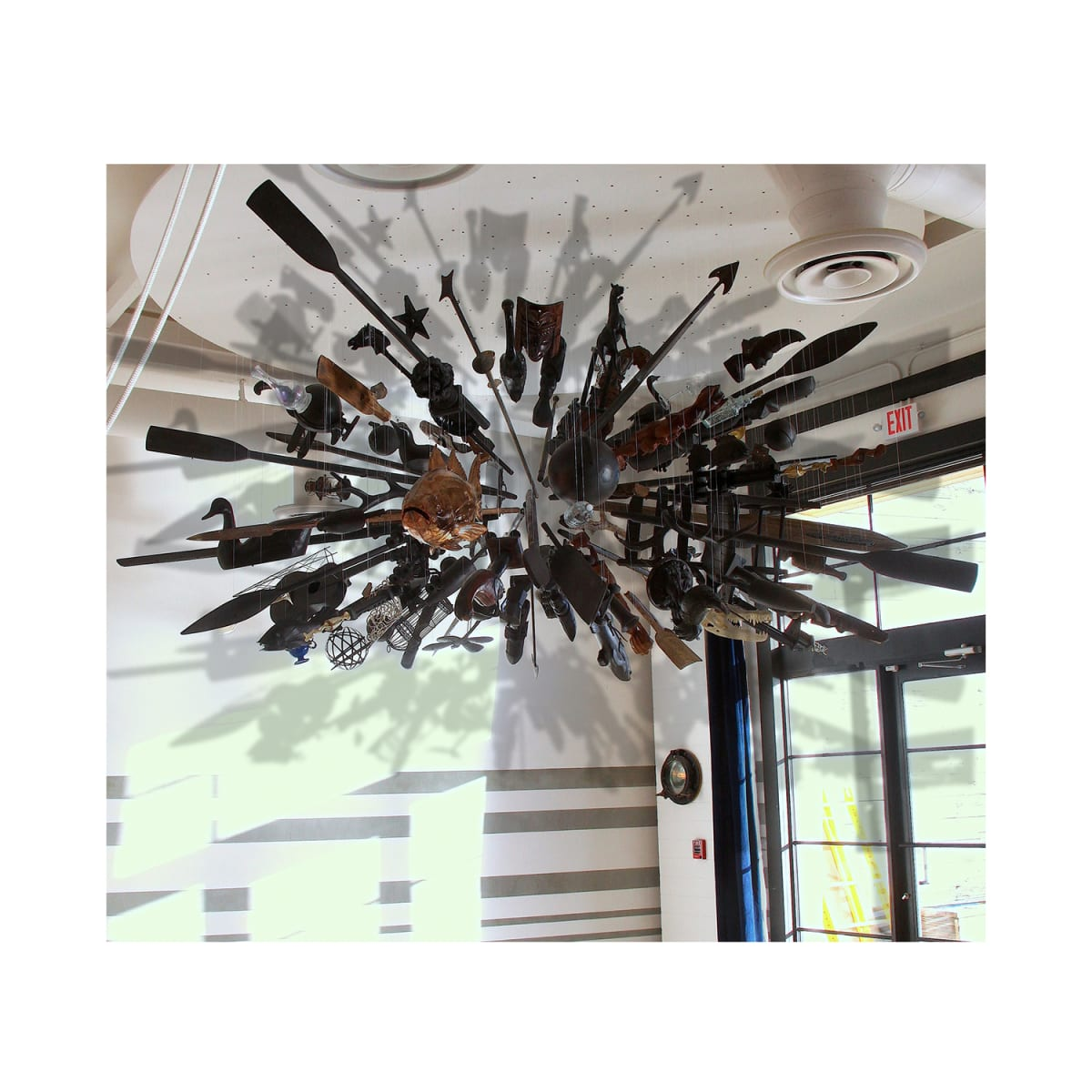 Suspended Sculpture I: Appropriations from el Rio, 2013