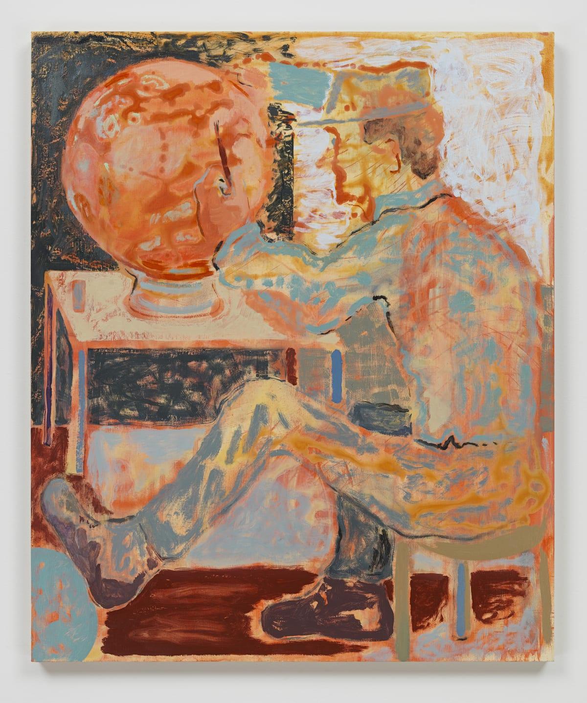 Sam Bornstein, Globe Painter, 2019
