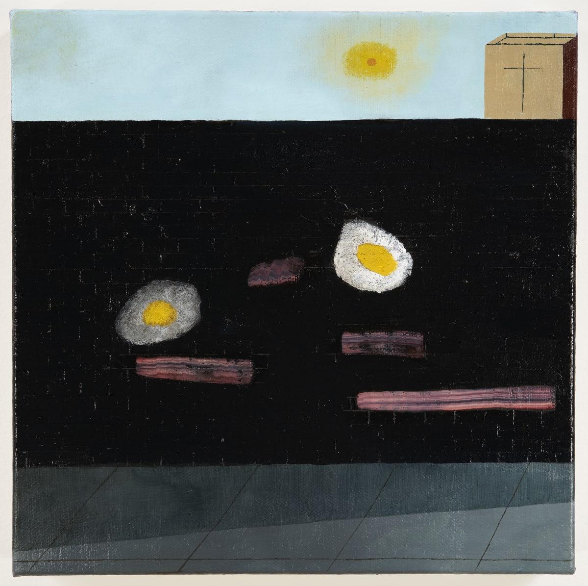 Kenny Rivero, Bacon, Eggs and Jesus, 2018