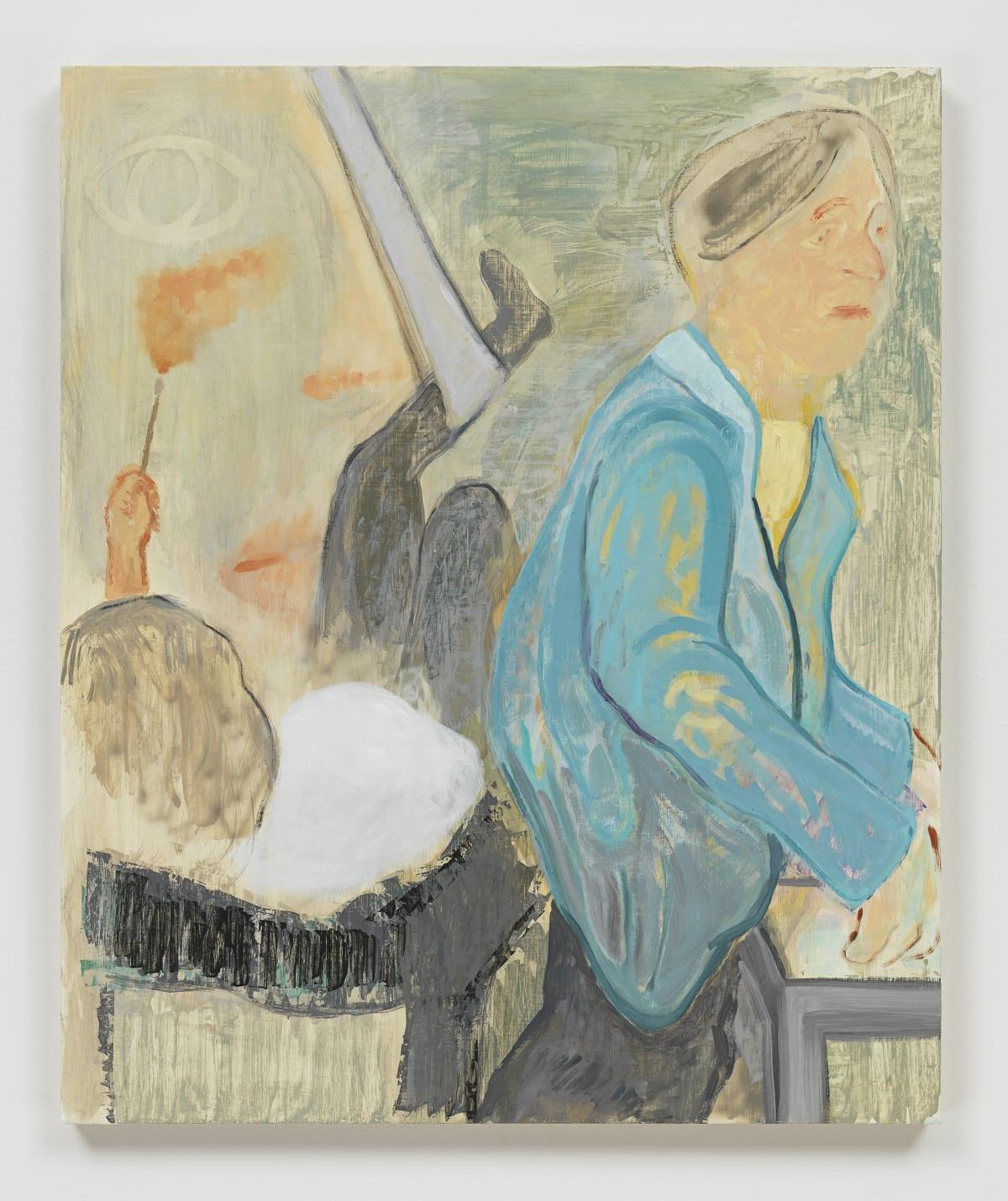 Sam Bornstein, Doctor, Patient, Painter, 2019