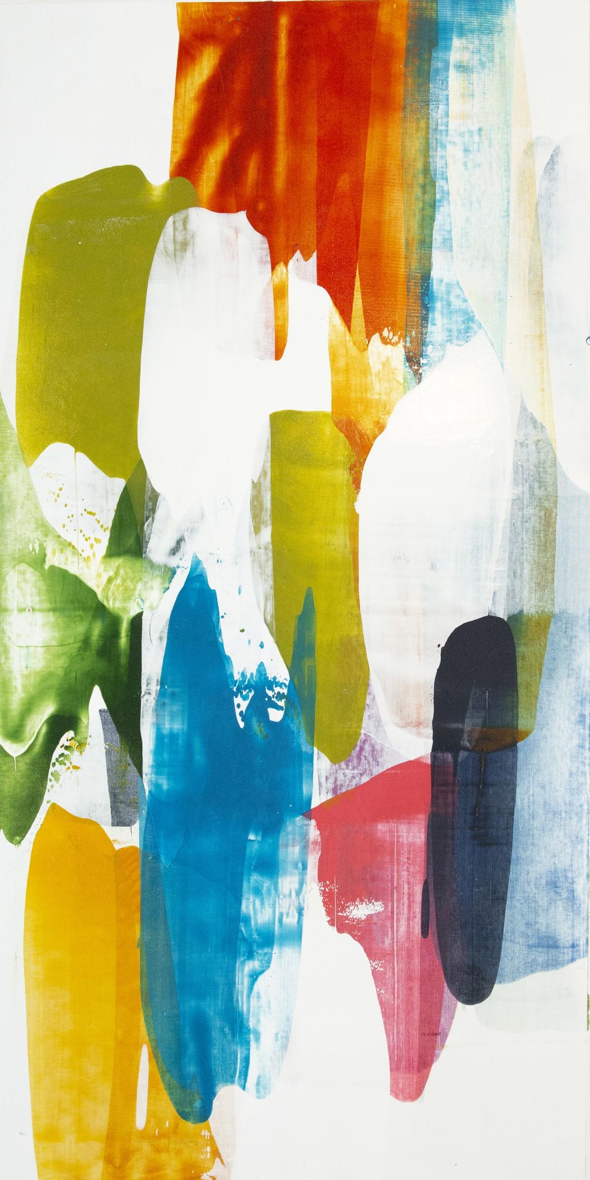 """Alridge Deep Spirit I Acrylic on Canvas 30 x 60"""" unframed 32 x 62"""" framed"""
