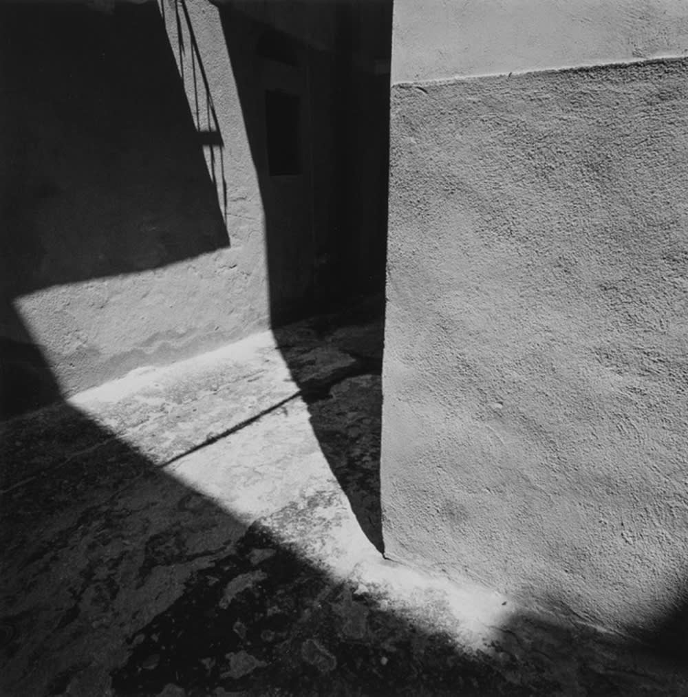 "Jed Fielding Vieste #44, 1991 Photography, gelatin silver print 14 x 14"" unframed 21.25 x 25.25"" framed"