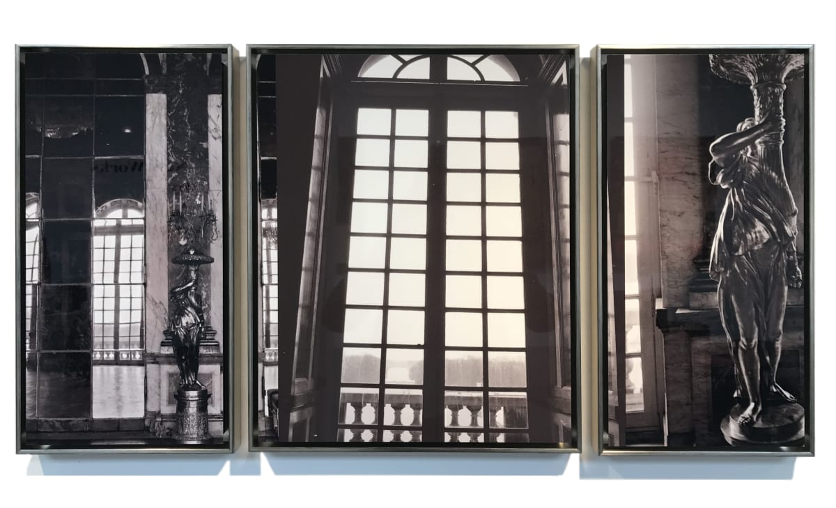 Donna Cameron Hall of Mirrors (Triptych) Photographic Print on Metal