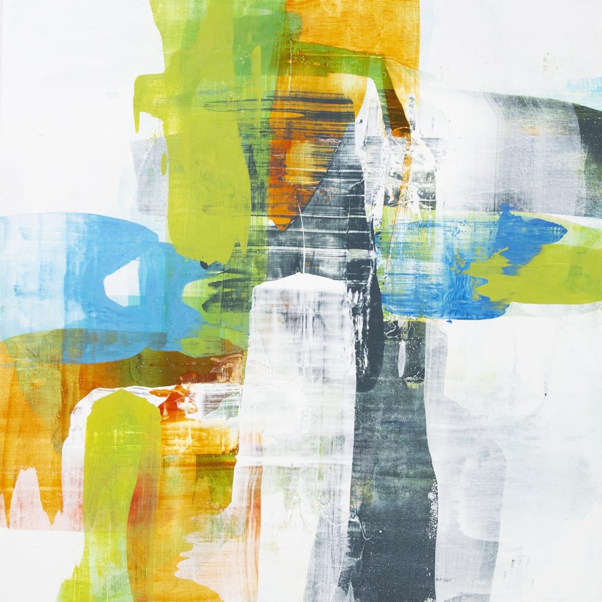 """Alridge In the Spirit I Acrylic on Canvas 40 x 40"""" unframed 41.5 x 41.5"""" framed"""