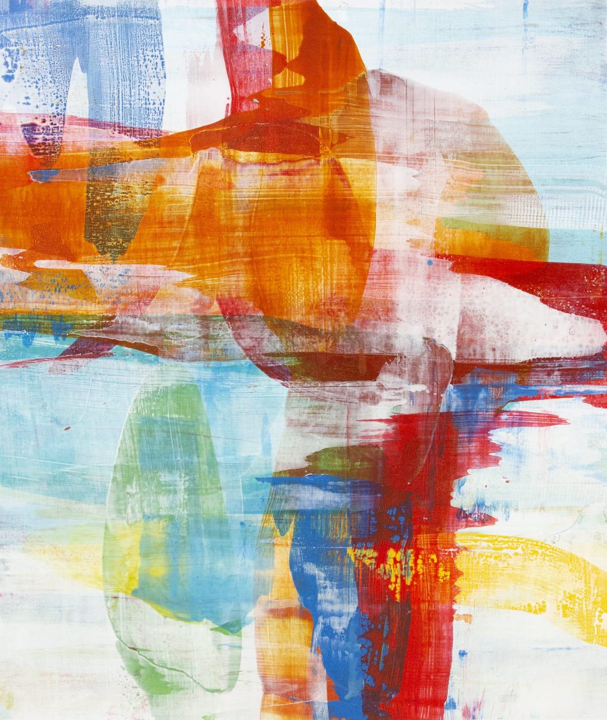 """Alridge Joint Spirit II Acrylic on Canvas 40 x 48"""" unframed 42 x 50"""" framed"""