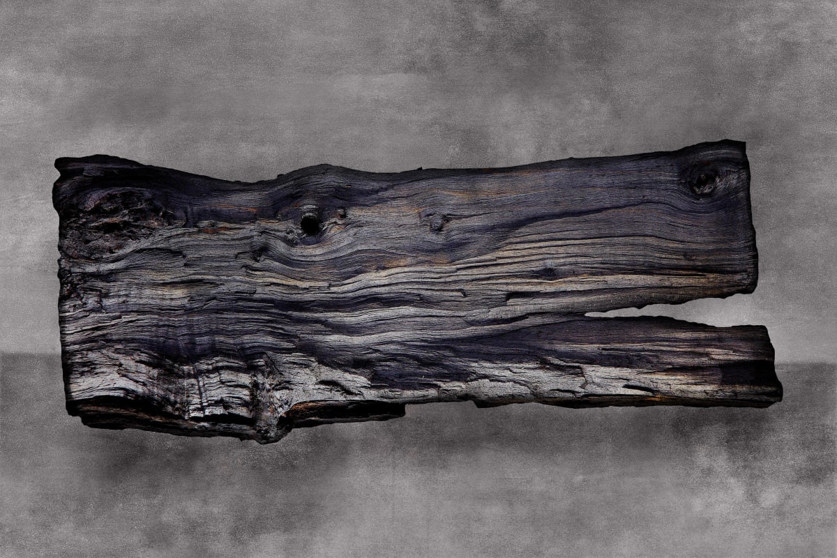 """Charles Shotwell Fired Wood Photography 30 x 20"""" unframed 40.75 x 34.75"""" framed"""