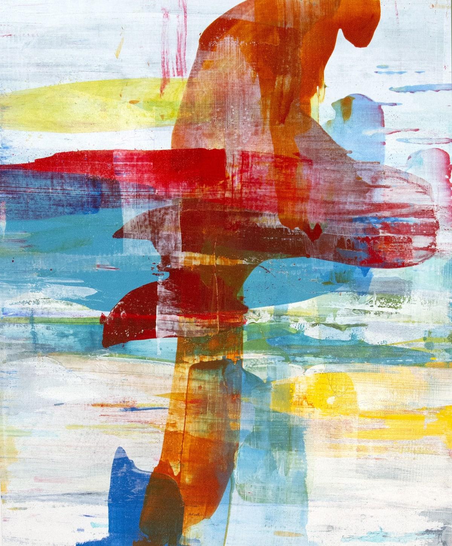 """Alridge Joint Spirit III Acrylic on Canvas 40 x 48"""" unframed 42 x 50"""" framed"""