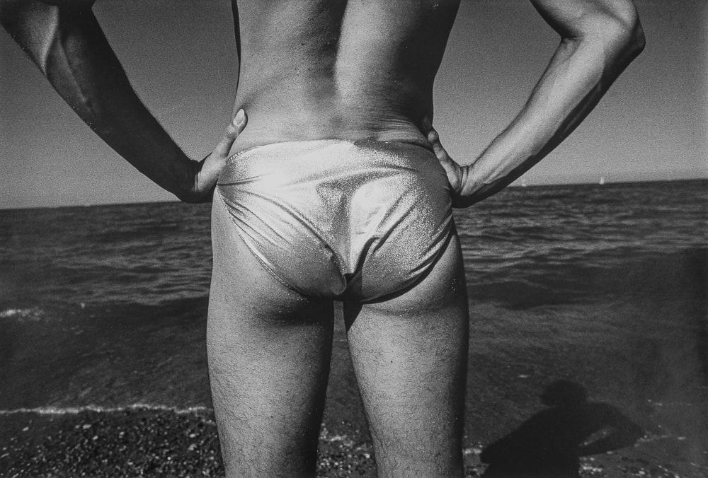"""Jed Fielding Chicago #66, 1978 Vintage Gelatin Silver Print 19 x 13"""" unframed"""