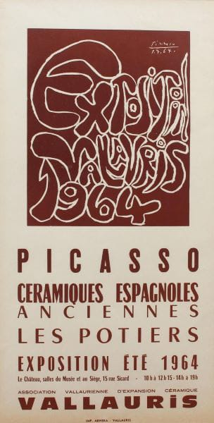Pablo Picasso, Exposition Vallauris, 1964