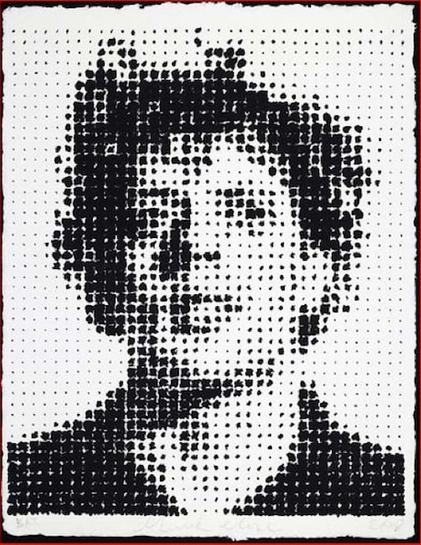 Chuck Close, Phil Houndstooth, 2009