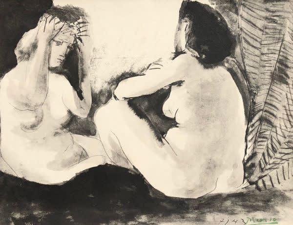 Pablo Picasso, Deux Femmes, 1967