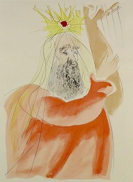 Salvador Dali, King Solomon, 1975