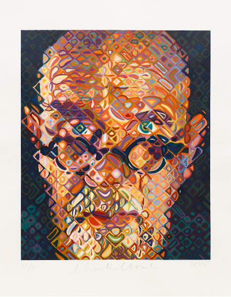 Chuck Close, Self-Portrait, 2015