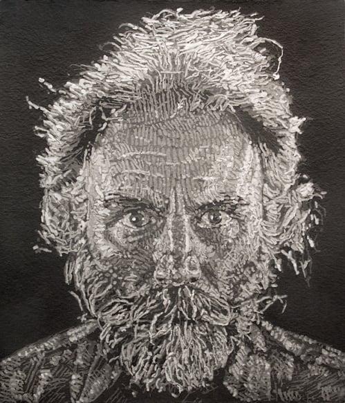 Chuck Close, Lucas, Paper/Pulp, 2006