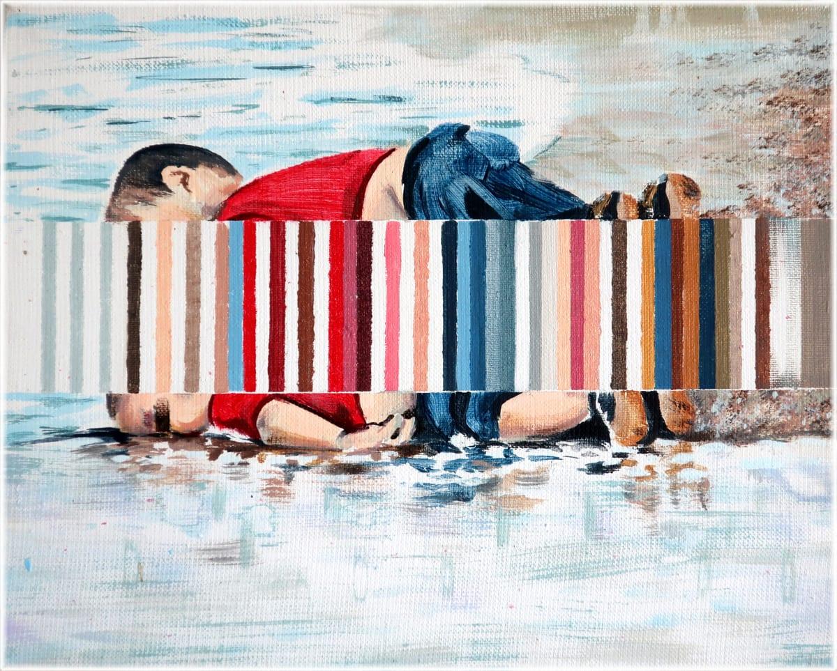 Darren Coffield Buoy, 2019 Acrylic on canvas 24 x 30 cm
