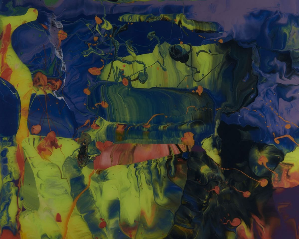 Gerhard Richter Aladin [P11], 2014 Chromogenic print mounted with Diasec on aluminium, rotated by 180˚ 37 x 50 cm Edition of 500