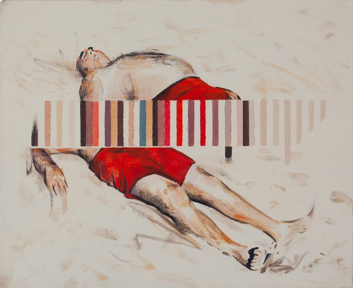 Darren Coffield Drift, 2019 Acrylic on canvas 24 x 30 cm