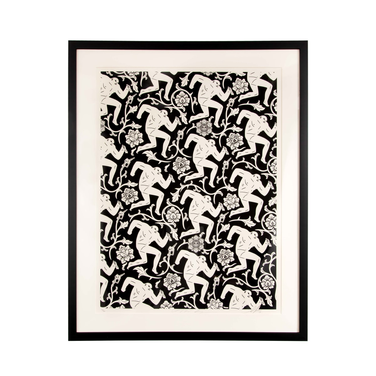 Cleon Peterson and Shepard Fairey Pattern of Corruption, 2015 Screenprint on paper 45.7 x 61 cm edition of 150