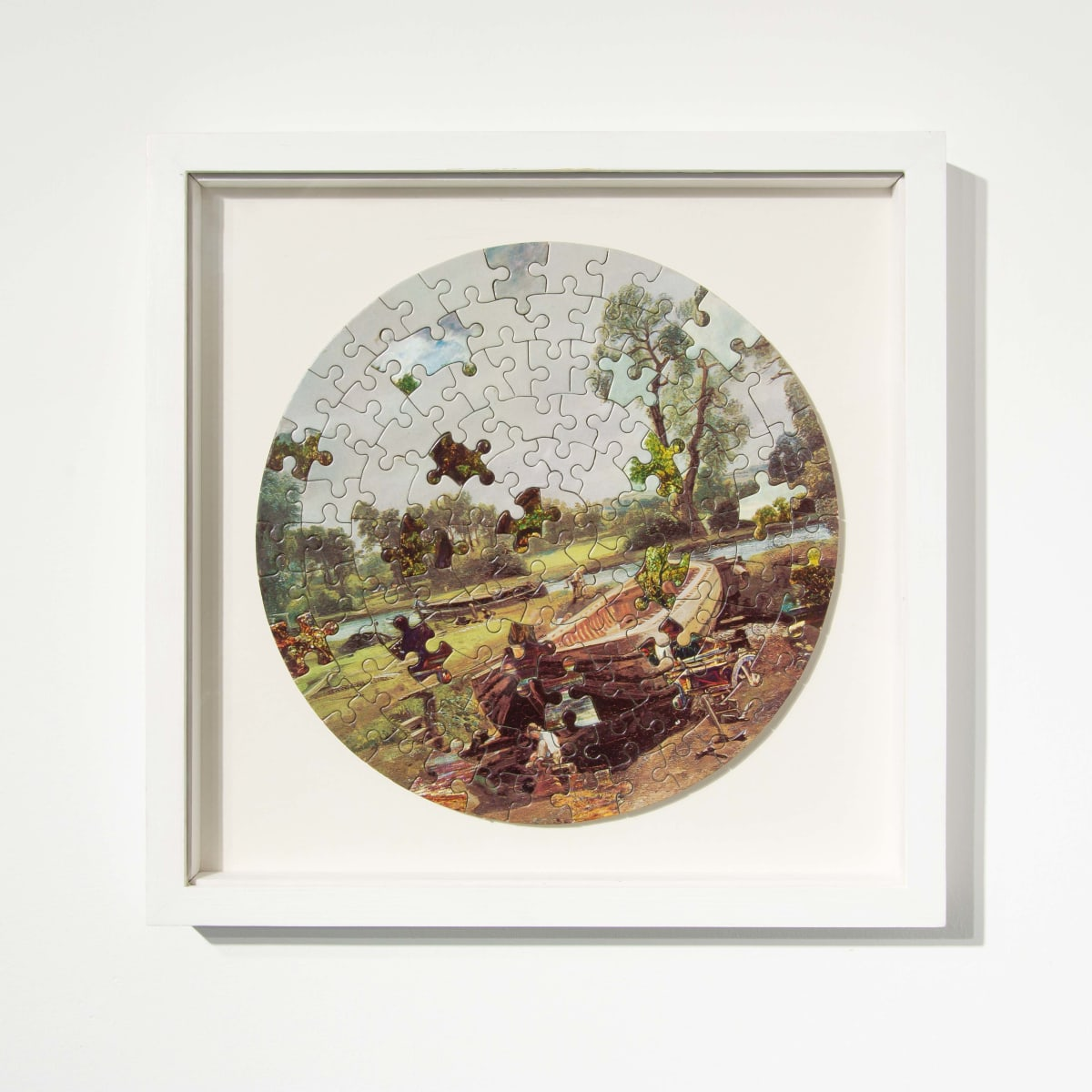 Darren Coffield Constable [IV], 2014 Lithograph on die-cut board 22.5 cm (d) 35.5 x 35.5 cm (framed) Edition of 2