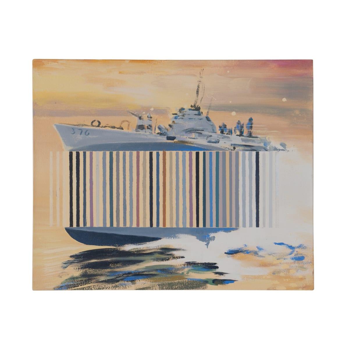 Darren Coffield Spectre I, 2019 Acrylic on canvas 35.5 x 43 cm