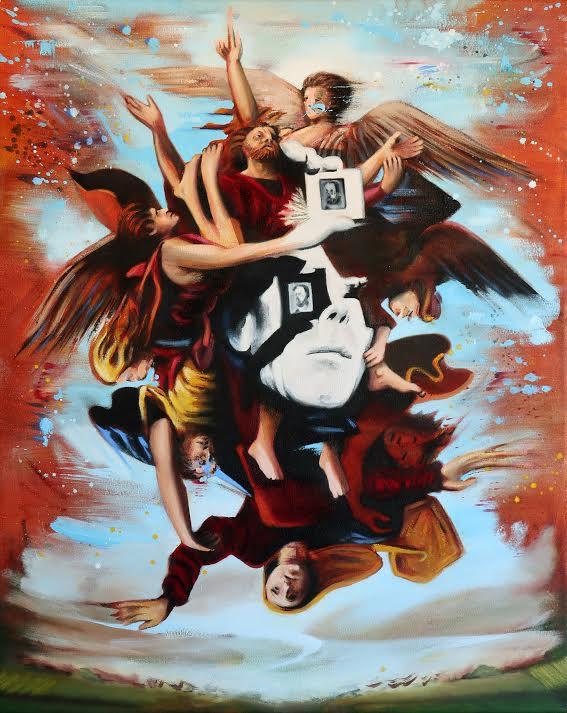 Darren Coffield Blunt Adoration, 2018 Oil on canvas 77 x 61 cm 30 1/4 x 24 1/8 in