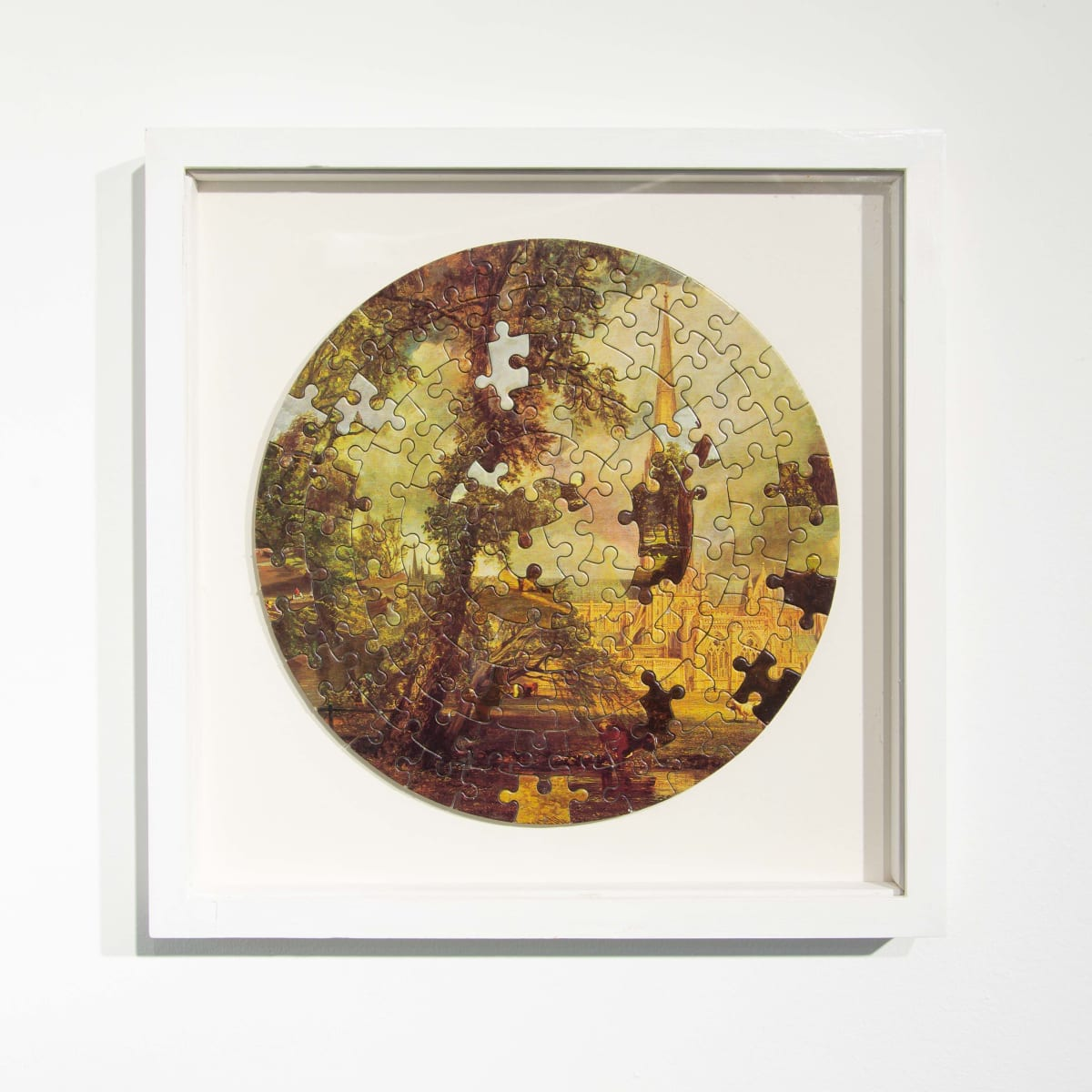 Darren Coffield Constable [III], 2014 Lithograph on die-cut board 22.5 cm (d) 35.5 x 35.5 cm (framed) Edition of 2