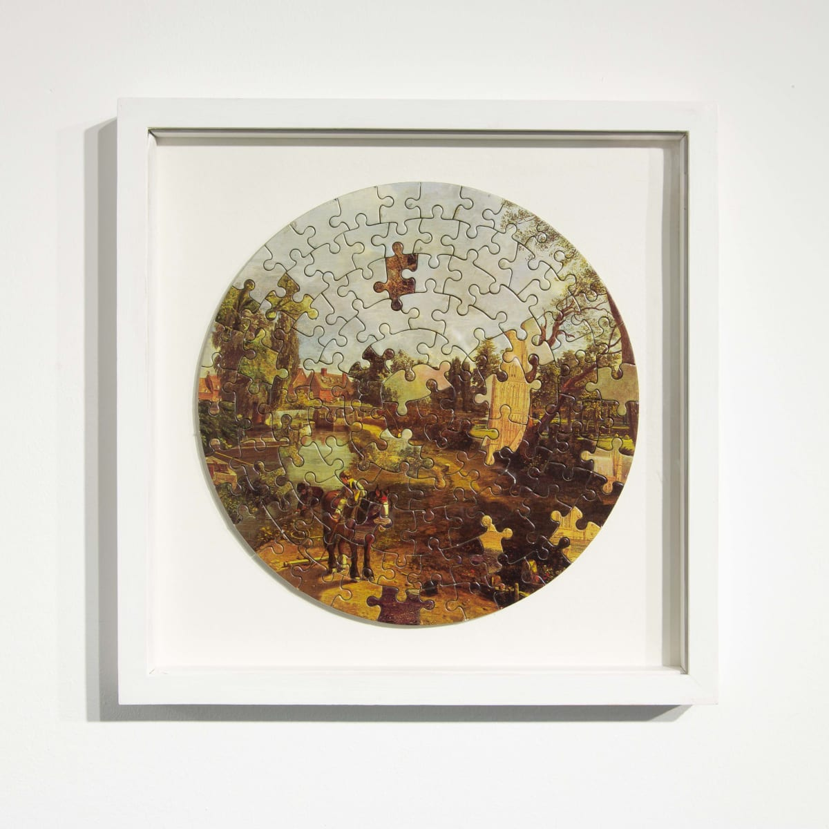 Darren Coffield Constable [II], 2014 Lithograph on die-cut board 22.5 cm (d) 35.5 x 35.5 cm (framed) Edition of 2