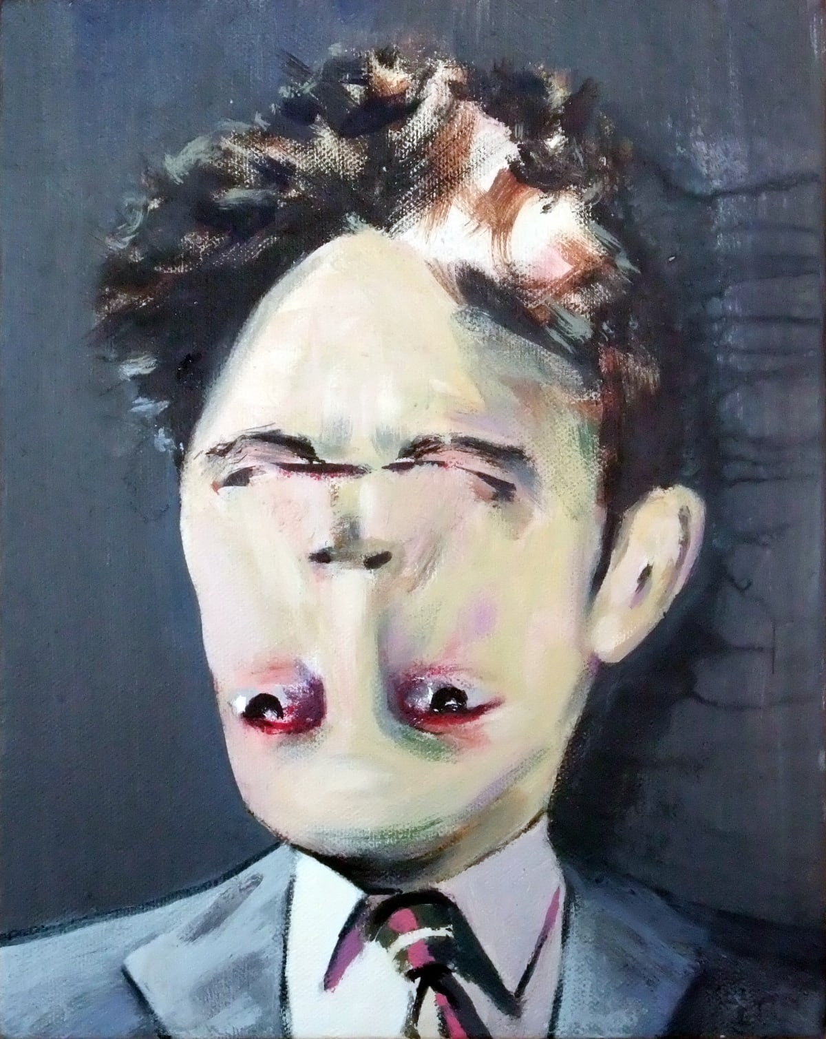 Darren Coffield Cocteau, 2009 Acrylic on canvas 41 x 36 cm 16 1/8 x 14 1/8 in