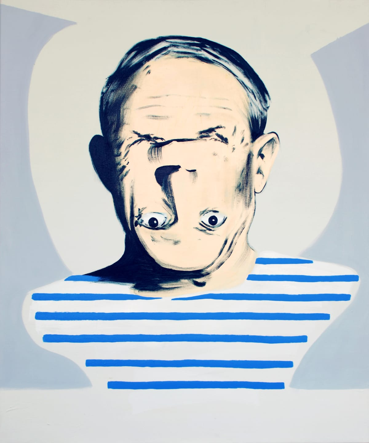 Darren Coffield Being Pablo Picasso, 2009 Acrylic on canvas 92 x 76 cm 36 1/4 x 29 7/8 in