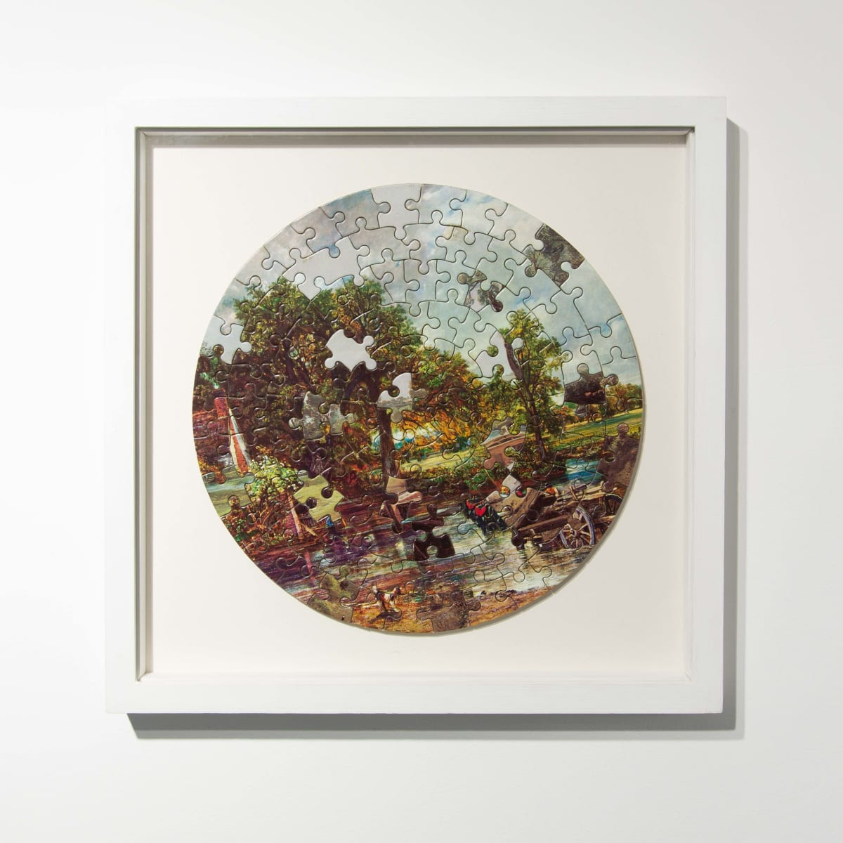 Darren Coffield Constable [I], 2014 Lithograph on die-cut board 22.5 cm (d) 35.5 x 35.5 cm (framed) Edition of 2