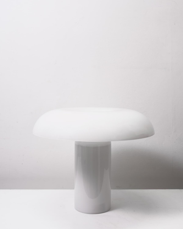 Matias Moellenbach Glass table lamp Mouth blown semi-transparent glass 25.5 x 31.5 cm