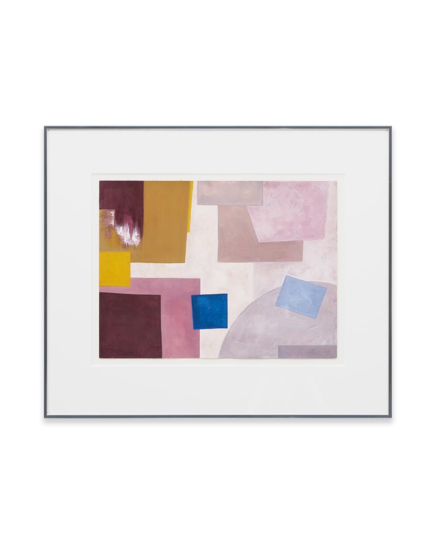 Emily Buck Composition 1 2019 Gouache on paper 31 x 23 cm