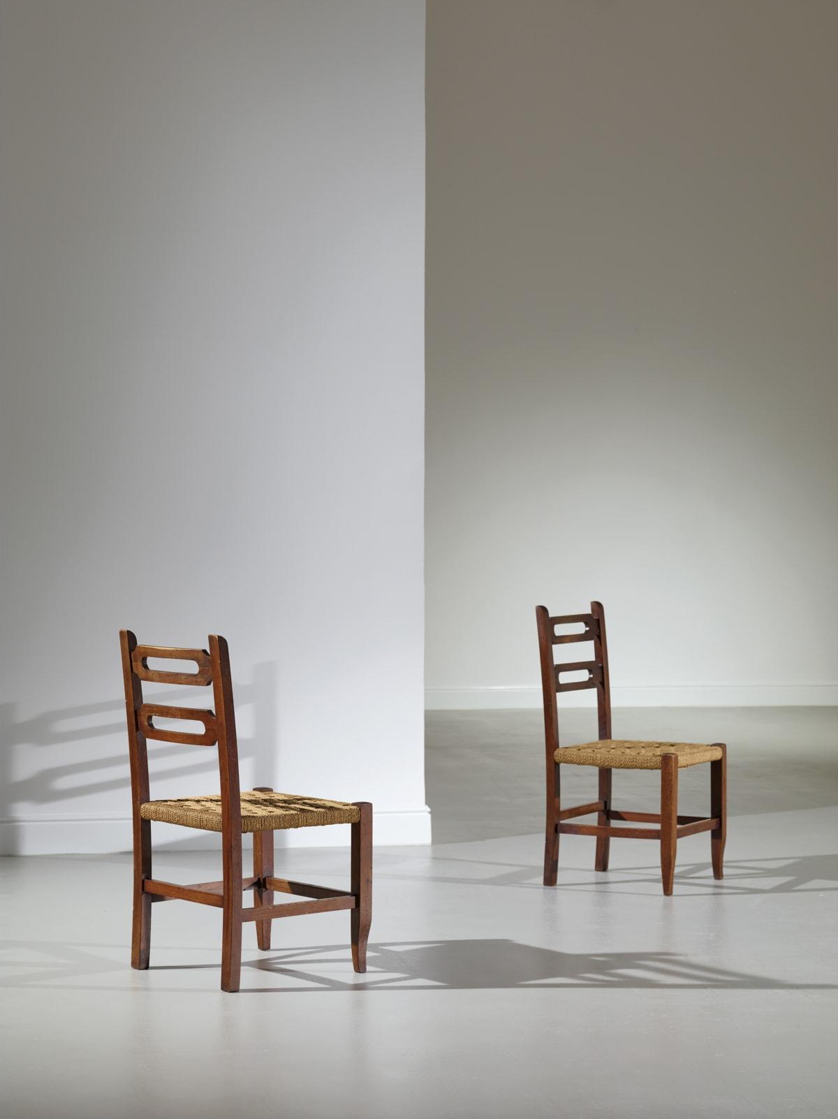 Gio Ponti & Emilio Lancia, Pair of chairs