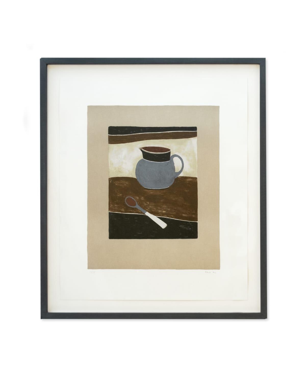 Rachel Nicholson Jug and Spoon 1992 Ed. 17/75 59 x 51.5 cm