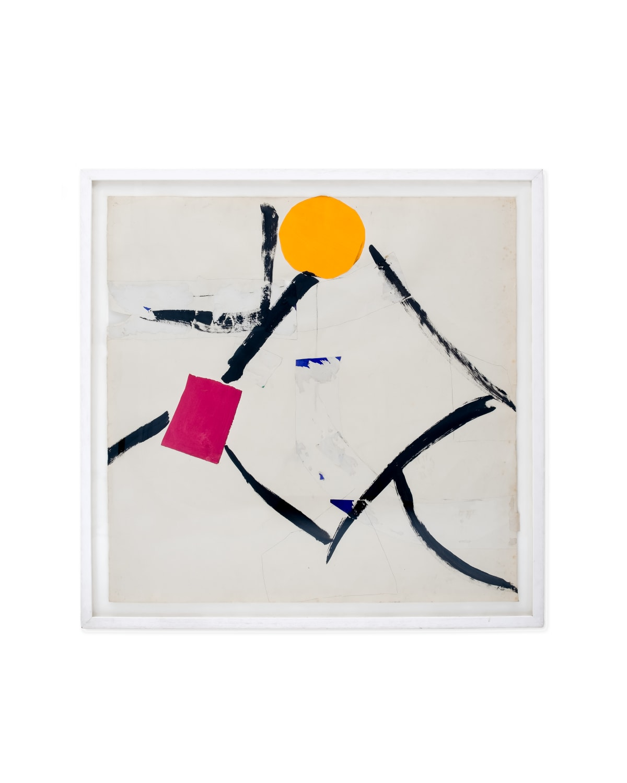 Sandra Blow, Untitled Orange Circle