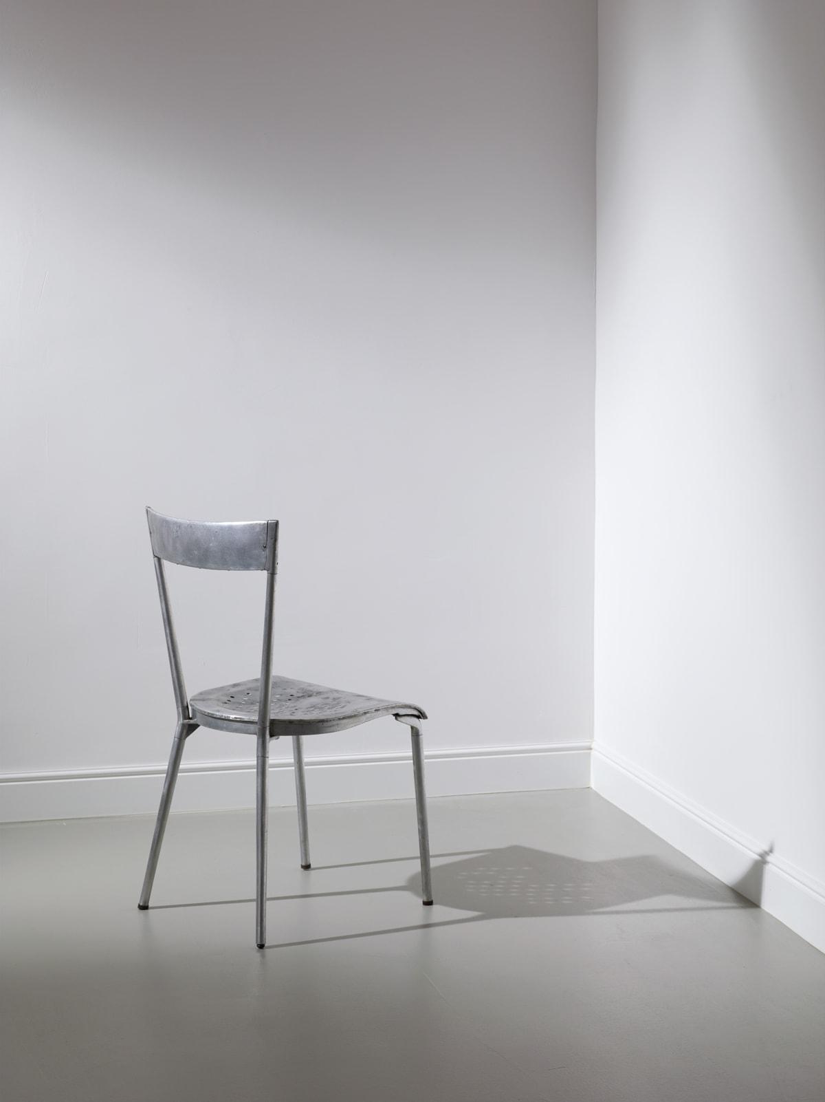 Gio Ponti Chair for the Montecatini office building for Parma Antonio & Figli c.1938 Die-cast aluminium 86 x 43 x 40 cm