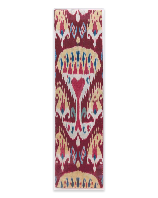 Uzbeck, Ikat panel