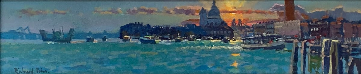 Richard Price ROI, Sunset over the Grand Canal, Unknown
