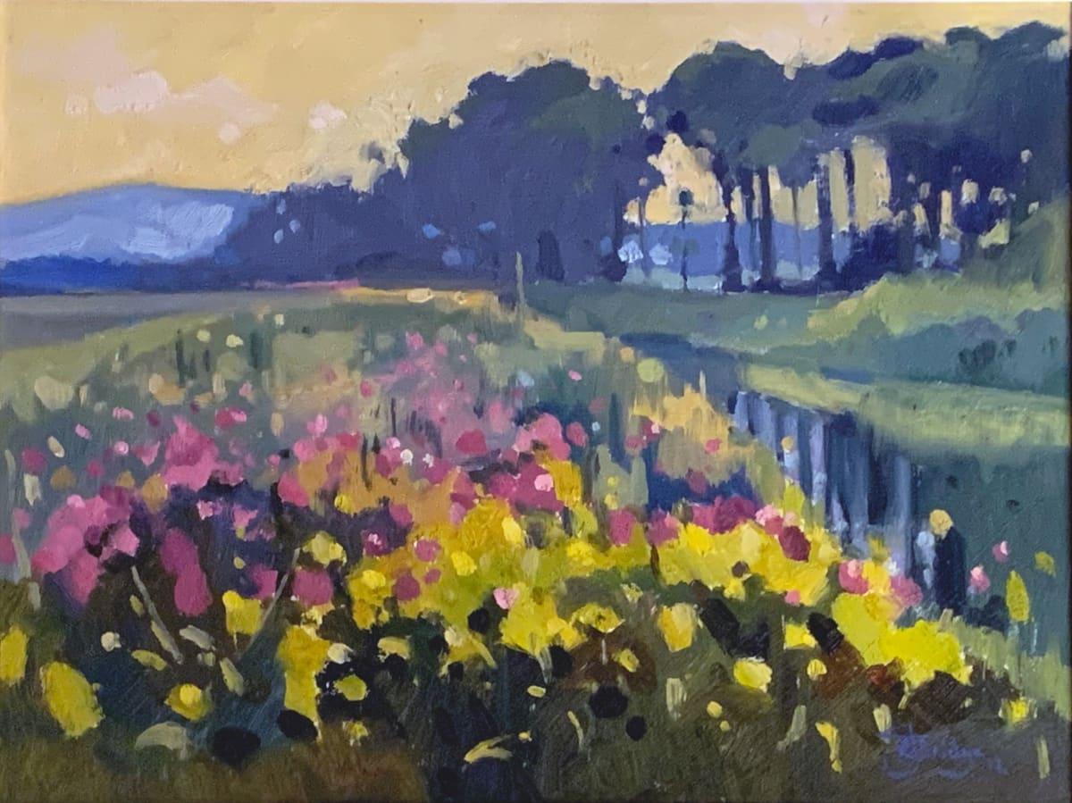 Antony Bridge, Morning Flowers, 2012