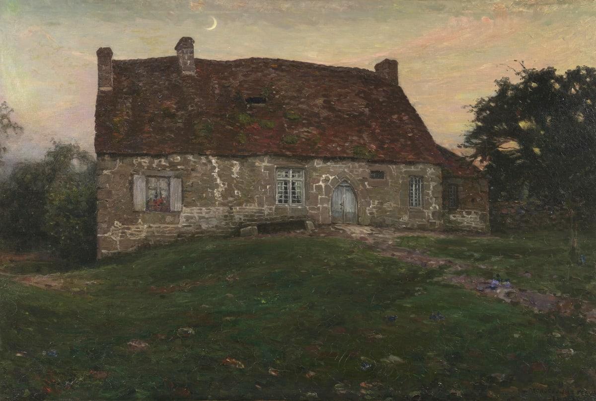George Le Febvre Le Manoir de la Boderie, 1907 Huile sur toile 90,5 x 62 cm Signé et daté en bas à droite