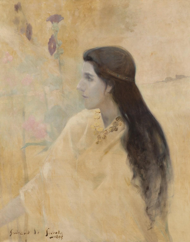 Lucien Victor Guirand de Scevola, La Princesse aux primevères, 1895