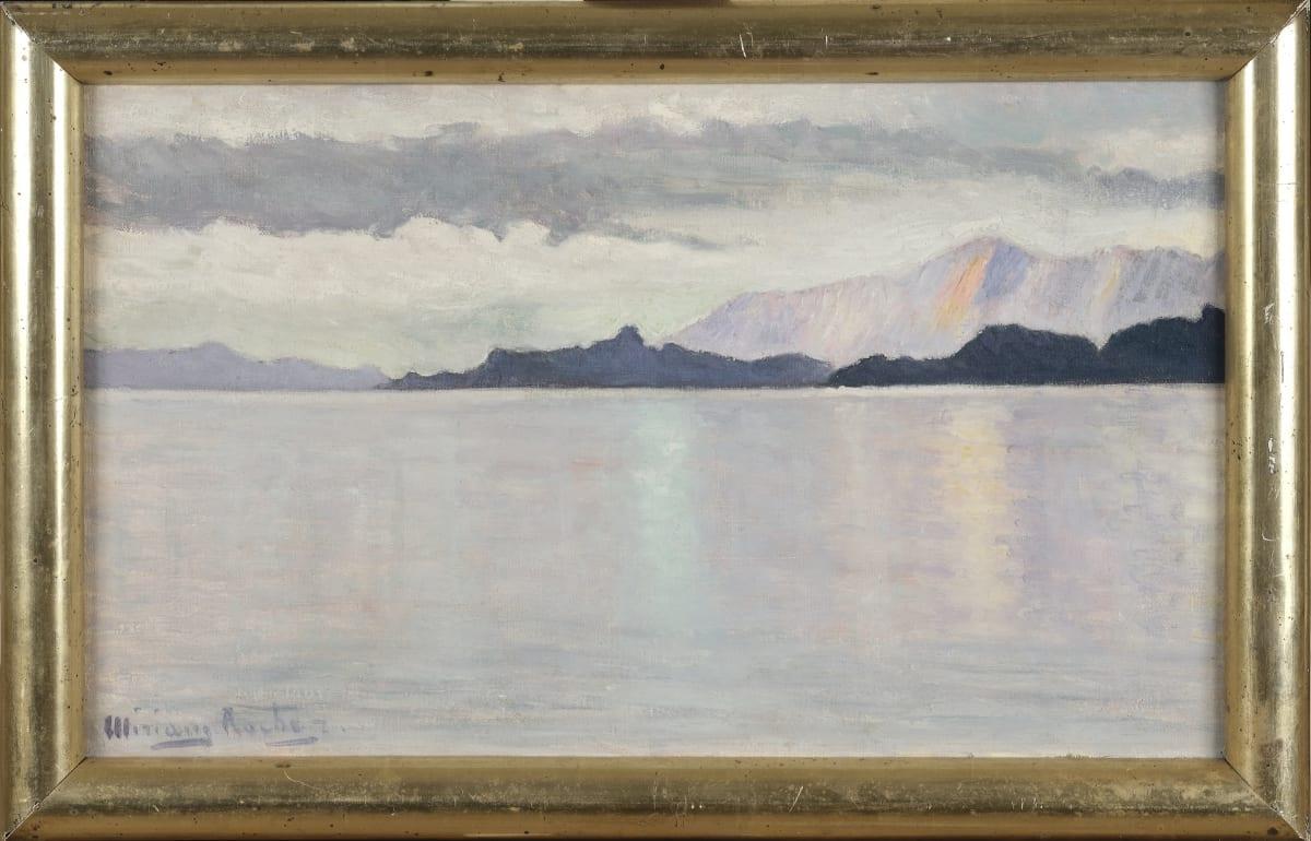 Miriam Rocher Canal de Magellan, Terre de Feu, 1911-1912 Huile sur toile 55 x 33 cm Signé en bas à gauche. Titré et daté au dos