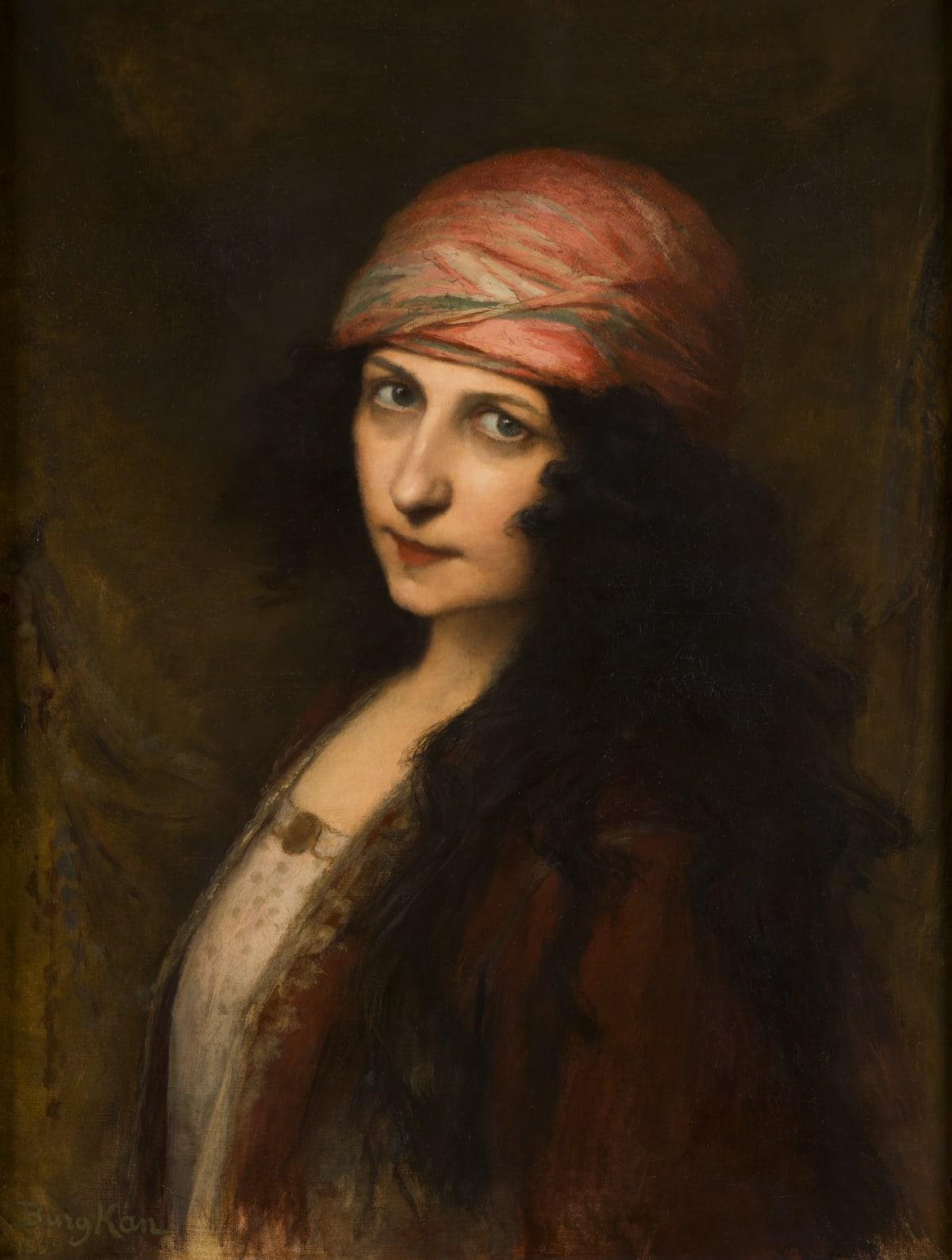 Berthe Burgkan, Herodiade, 1899