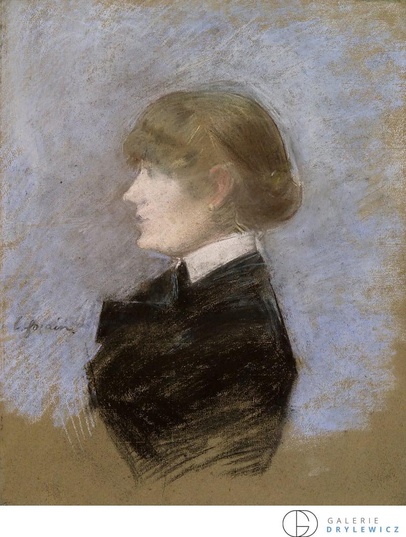 Jean Louis Forain, Jeune femme de profil