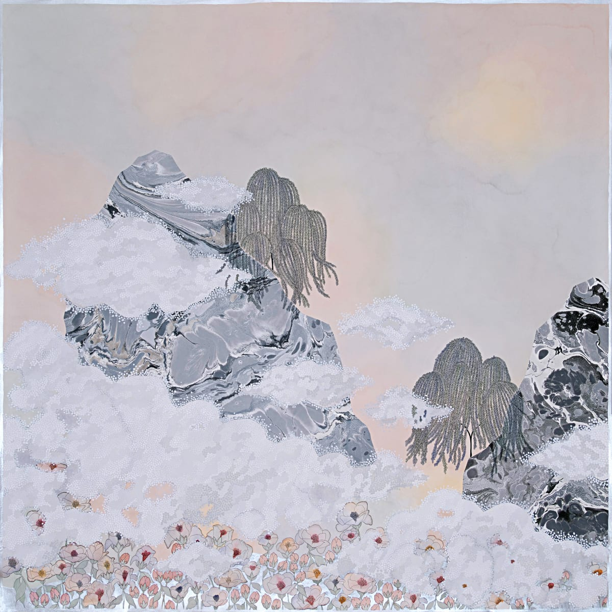 """Crystal Liu, the fog, """"they escaped me"""", 2019"""