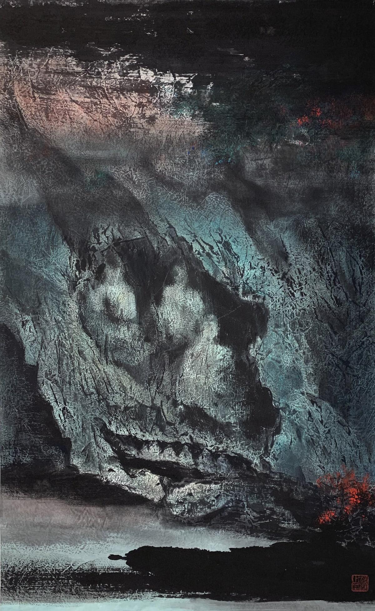 Kwok Hon Sum 郭漢深, Buddha Grottes, 1988