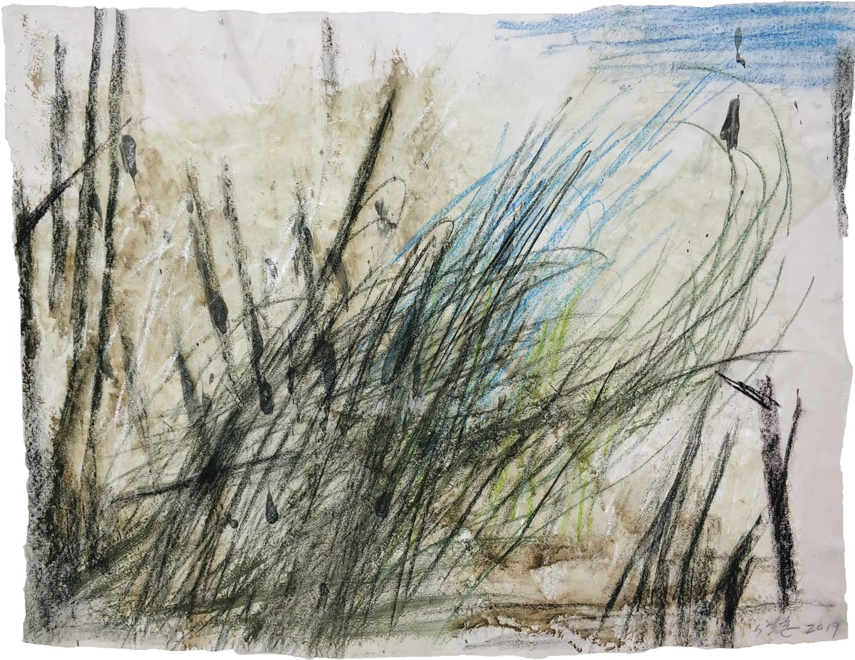 Wang Gongyi 王公懿, Leaves of Grass No.10 草葉集之十, 2019